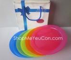 Bộ 6 đĩa nhựa Friso