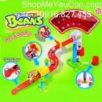 Bộ đồ chơi hạt đậu nhảy trượt trên ray Enfa