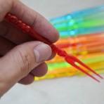 Set 20 nĩa nhựa ăn hoa quả KM.92