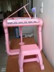 Đàn piano kèm ghế & micro cho bé BB375