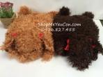 Túi sưởi cún lông dài