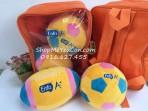 Set balo và 2 bóng bông mẫu mới Enfa
