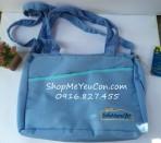 Túi đựng đồ cho mẹ và bé Enfa xanh