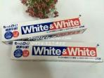 Kem đánh răng White&White Nhật 150g