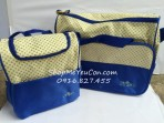 Bộ túi mẹ và bé Friso màu xanh