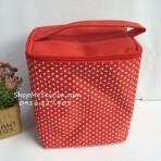Túi giữ nhiệt chấm bi