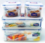 Bộ 4 hộp Locknlock nhựa HPL817SC04