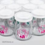 Bộ 12 hũ sữa chua Kitty