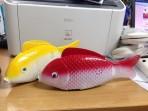 Cá chép chạy pin