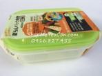 Bộ 2 hộp thực phẩm 400ml hàng Nhật