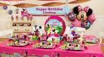 Set trang trí tiệc sinh nhật theo chủ đề