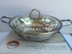Chảo lẩu vung kính H&E Cook 28cm Sharp