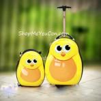 Bộ vali kéo + balo đeo Cuties Vịt vàng