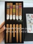 Bộ đũa gia đình 5 đôi hàng Nhật