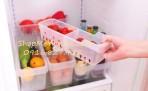 Khay nhựa chia đồ trong tủ lạnh