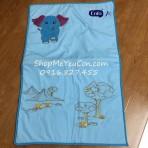 Thảm nằm em bé voi xanh Enfa
