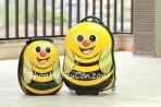 Bộ vali kéo + balo đeo Cuties Ong vàng