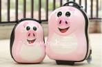 Bộ vali kéo + balo đeo Cuties Lợn hồng