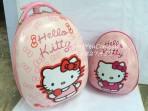 Bộ vali + balo trứng Hello Kitty