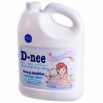 Nước xả mềm vải Dnee can 3L