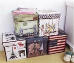 Ghế hộp xếp gọn Vintage