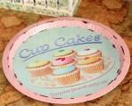 Khay sắt cup cake/ o tô