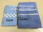 Set 2 khăn Clear