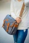 Túi đeo chéo vải dù Sony