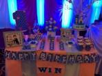 Set trang trí tiệc sinh nhật theo chủ đề 8 món