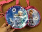 Túi đeo chéo dạng tròn Elsa/Anna Dutchlady