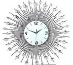 Đồng hồ đính hạt tia bạc đk 65cm – DHS 05