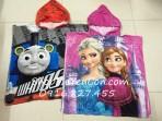 Áo choàng tắm có mũ Disney