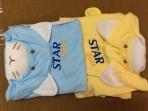Quấn ủ em bé đầu thú Star Gold S26