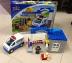 Bộ lego lắp ghép Đồn và xe Cảnh sát Abbot