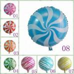 Bóng bay trang trí hình tròn (kẹo, chấm bi, boy/girl)