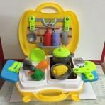 Cặp đồ chơi nấu ăn 26pcs