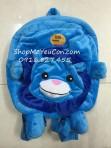 Balo nhung Sư tử xanh S26