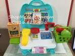 Cặp đồ chơi thanh toán siêu thị 23pcs