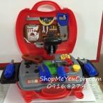 Cặp đồ chơi kỹ sư cơ khí 19pcs