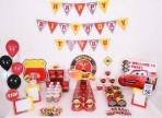 Set trang trí sinh nhật 16 món theo chủ đề- MC Queen