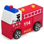 Xe gỗ cứu hỏa lắp ráp Winwintoys S26
