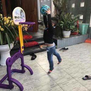 Cột bóng rổ + khung thành bóng đá PediaSure