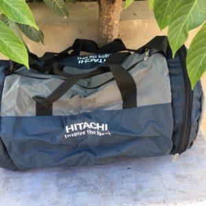 Túi du lịch vải dù gấp gọn cao cấp Hitachi