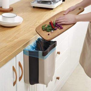 Thùng rác thông minh gấp gọn
