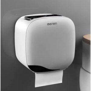 Hộp đựng giấy vệ sinh thông minh dán tường siêu chắc mẫu mới OENON