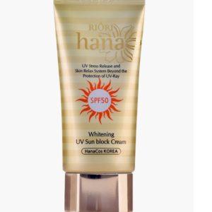 Kem chống nắng Riori Whitening UV Sun Block Cream (Tuýp 50ml)